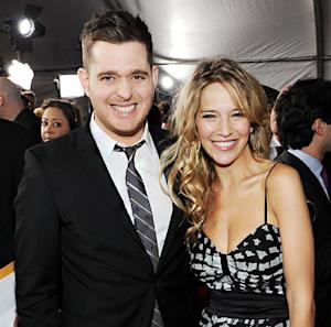 """Michael Buble's Pregnant Wife Luisana Lopilato Is """"Killing"""" Him With Baby Name Ideas"""