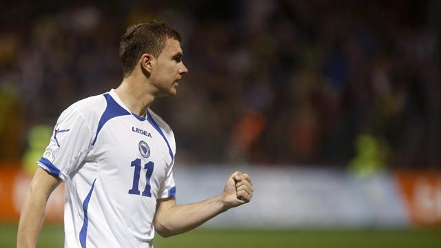 World Cup - Dzeko must come down to earth, says angry Bosnia coach