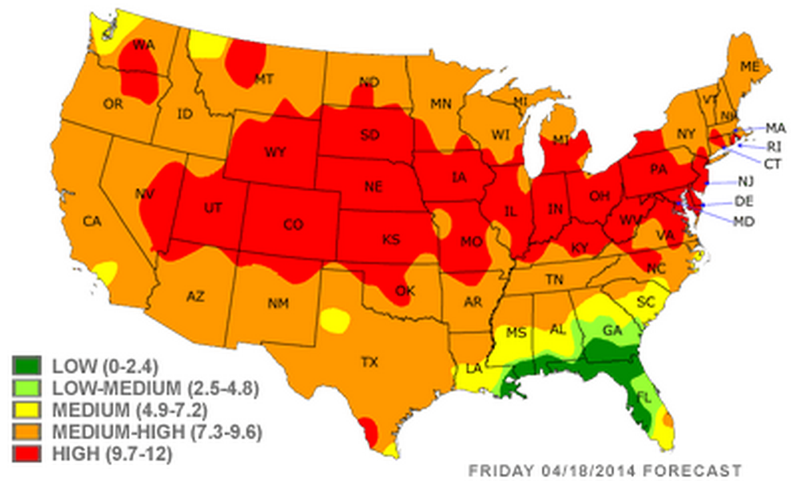 The worst places in the us for seasonal allergies yahoo for Top 5 places to live in usa
