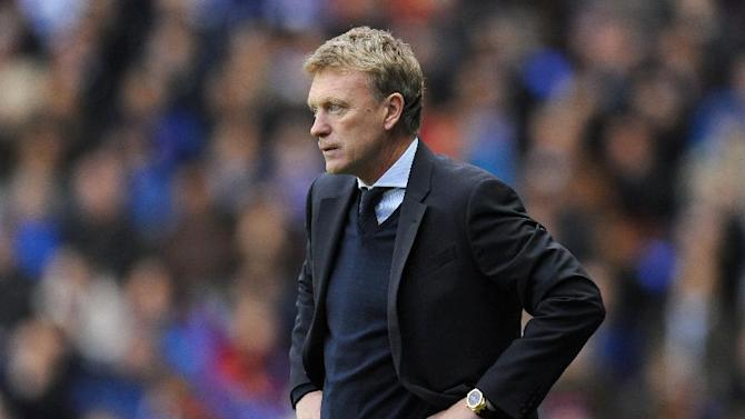 David Moyes believed Everton should have been awarded a penalty