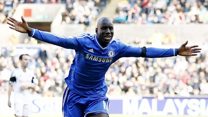 Premier League - Chelsea accept £8m Besiktas offer for Demba Ba