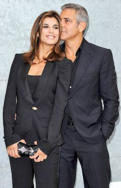 """Elisabetta Canalis: George Clooney Was """"Like a Father""""  to Me"""