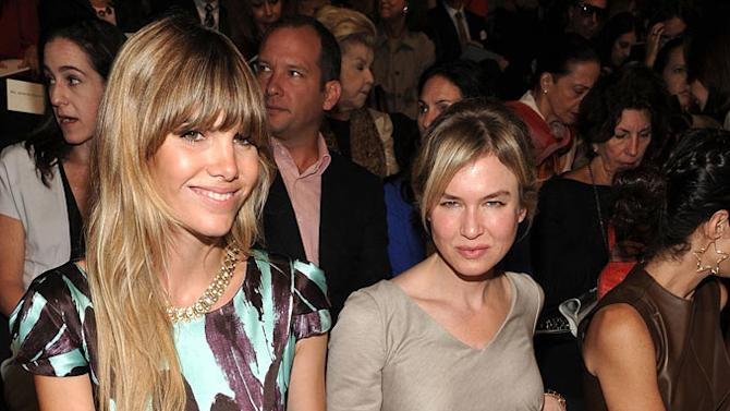 Renee Zellweger Fashion Week
