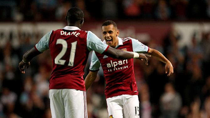 Soccer - Capital One Cup - Second Round - West Ham United v Cheltenham Town - Upton Park