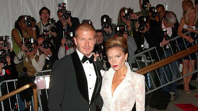 Beckham D V the Met Gala