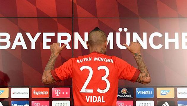 #360transfers: Arturo Vidal completes move to Bayern Munich from Juventus
