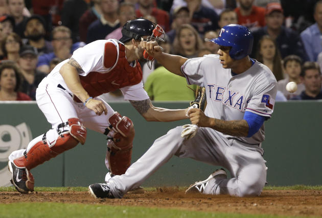 Rangers put 1B/OF Blanks on disabled list, add OF Smolinski