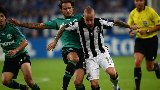 Champions League - Schalke held by PAOK as home teams flop