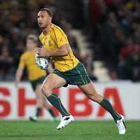 Quade Cooper will line up against New Zealand at the weekend