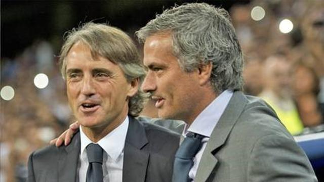 Serie A - Mancini: Mourinho doesn't want any friends