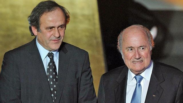 Football - Platini: Only I can beat Blatter to FIFA presidency