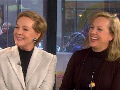 Julie Andrews and Daughter Discuss New Book