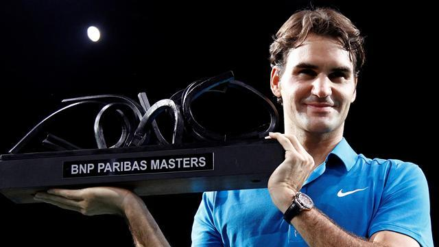 Tennis - Federer pulls out of Paris Masters