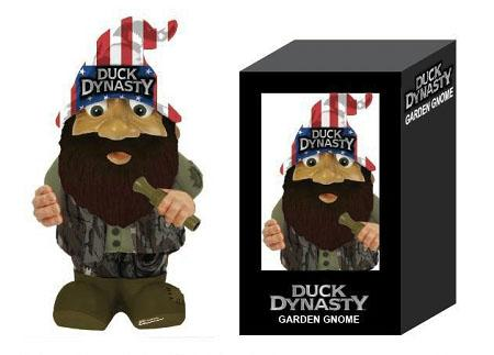 """Duck Dynasty"" Merchandise: Willie Garden Gnome"
