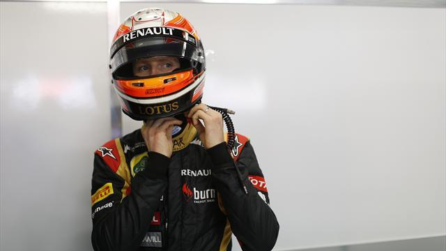 Formula 1 - Lotus to keep Grosjean on