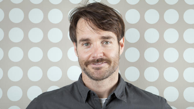 "This April 19, 2013 photo shows actor Will Forte in New York. Forte, a cast member on ""Saturday Night Live,"" stars in his first dramatic role in  ""Run and Jump,"" a film being shown at the TriBeca Film Festival. (Photo by Amy Sussman/Invision/AP)"