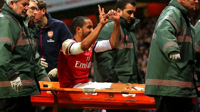 Premier League - Injured Theo Walcott to miss six months, out of World Cup