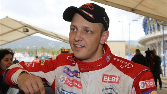 Hirvonen escapes major crash