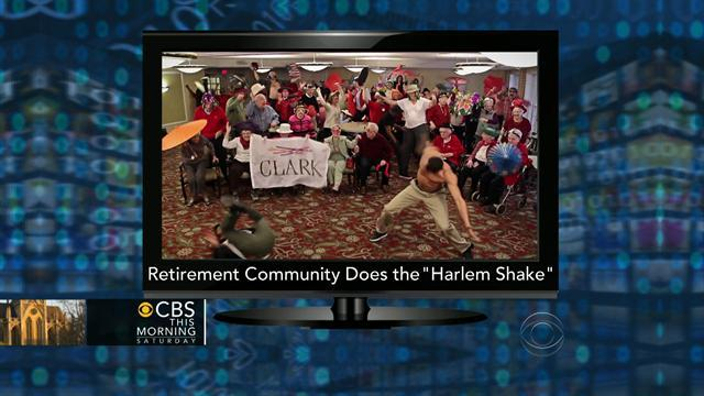 Going Viral: Harlem Shake in retirement home