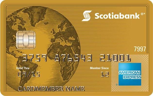 Scotiabank Gold American Express Card
