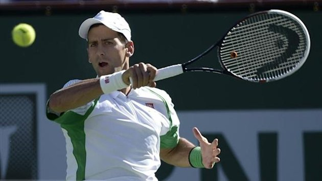 Novak Djokovic en Indian Wells