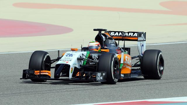 Formula 1 - Perez fastest again at Sakhir