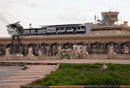 The airport in the northern Syrian city of Aleppo on December 12, 2012. Syrians woke up to air strikes near Damascus on New Year's Day as Aleppo airport was closed after repeated rebel attacks, casting doubts on diplomatic drives to end the 21-month conflict.