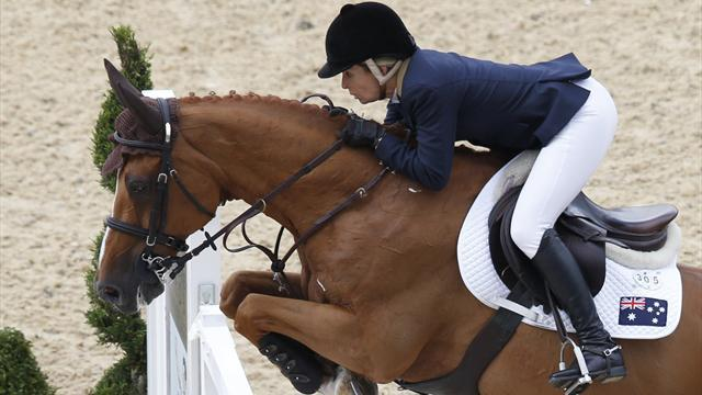 Equestrianism - Tops-Alexander eyes victory at European Masters