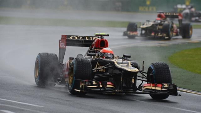 Formula 1 - Grosjean says Red Bull uncatchable