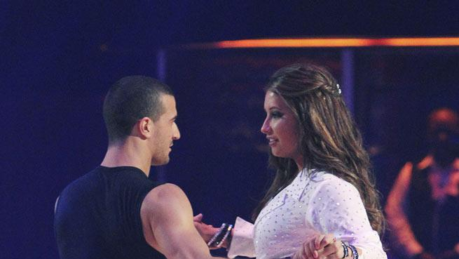 """Bristol Palin and Mark Ballas perform on """"Dancing with the Stars."""""""
