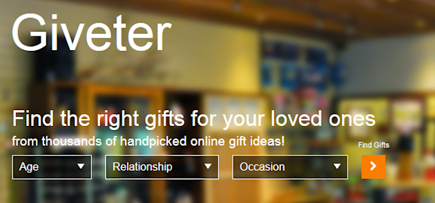 Social Gifting Startup Giveter Raises First Round Of Funding image Giveter social gifting