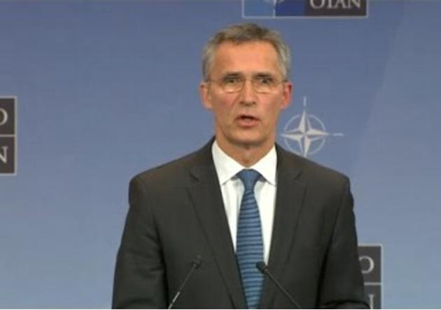 NATO Chief Urges Calm After Turkey Downs Russian Plane