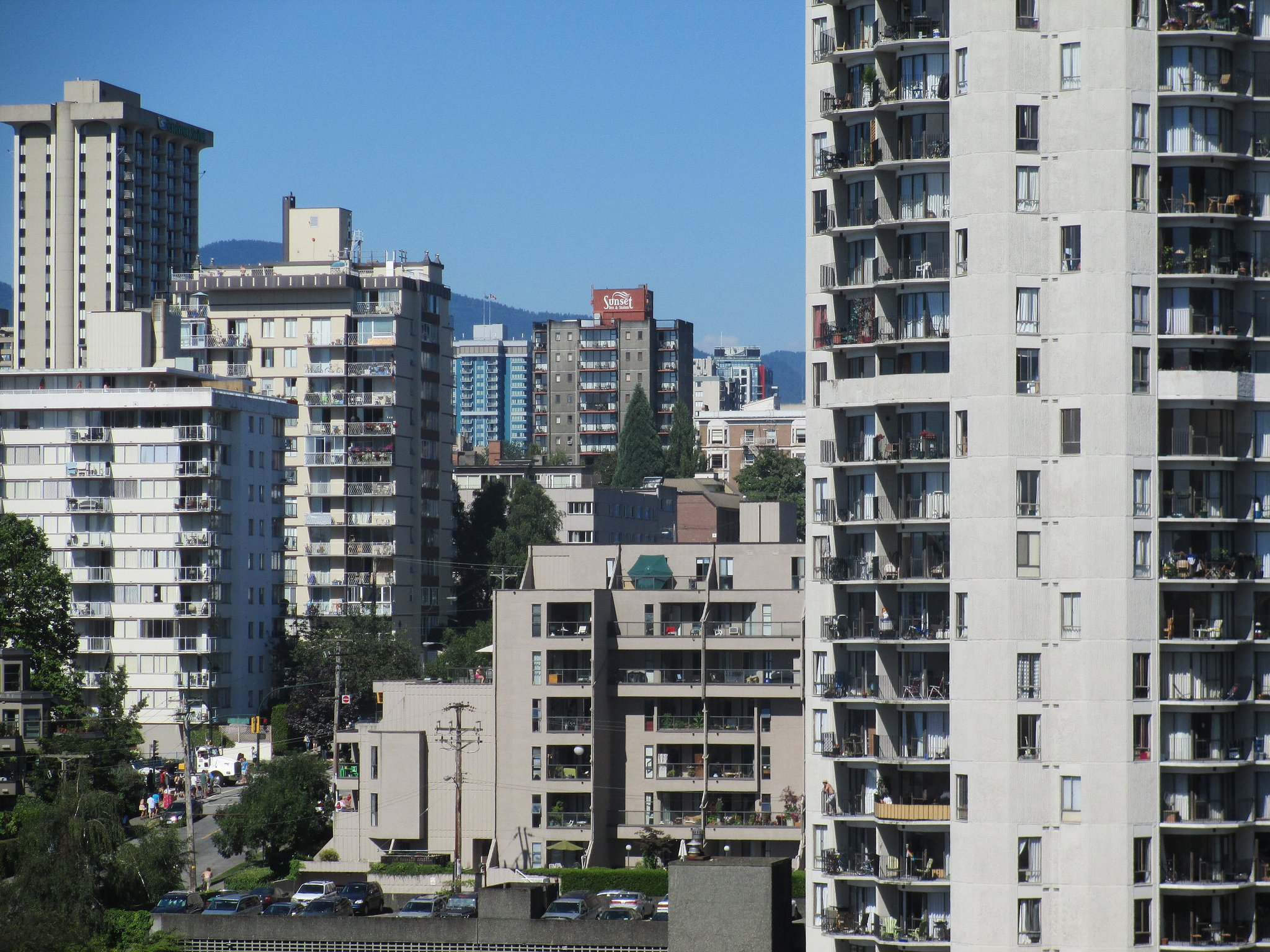 Apartment buildings in Vancouver, B.C. (Robert Ashworth/Flickr)