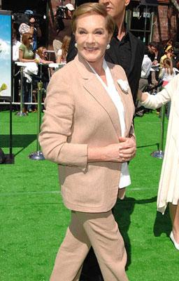 Julie Andrews at the Los Angeles premiere of DreamWorks' Shrek the Third
