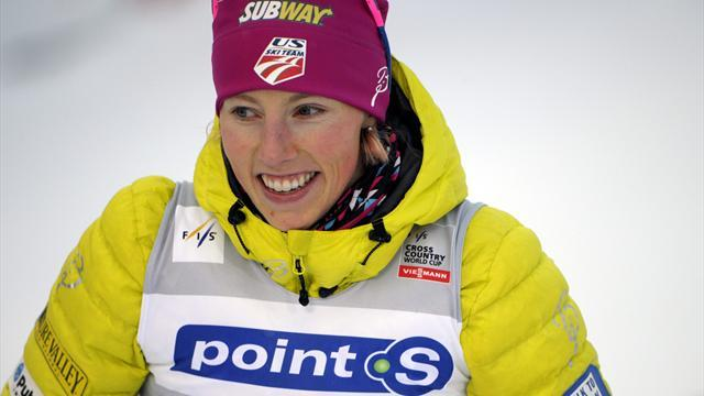 Cross-Country Skiing - Randall bosses Tour de Ski sprint for second stage win