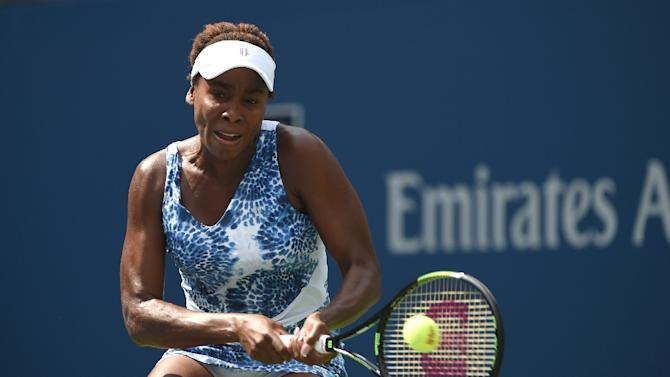 Venus Williams, Serena's older sister who owns seven Grand Slam crowns of her own, in action on August 31, 2015, has noticed her sibling's extra focus paying off as well