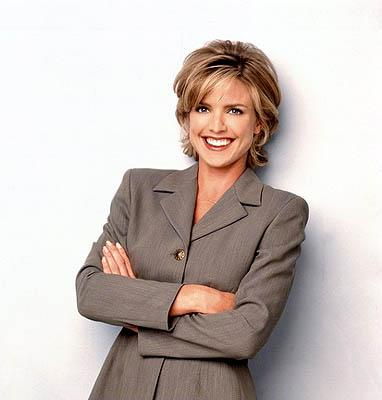 Courtney Thorne-Smith is Georgia on Ally McBeal Ally McBeal