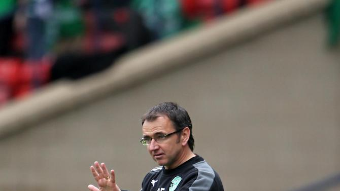 Pat Fenlon refused to be too downbeat after their defeat