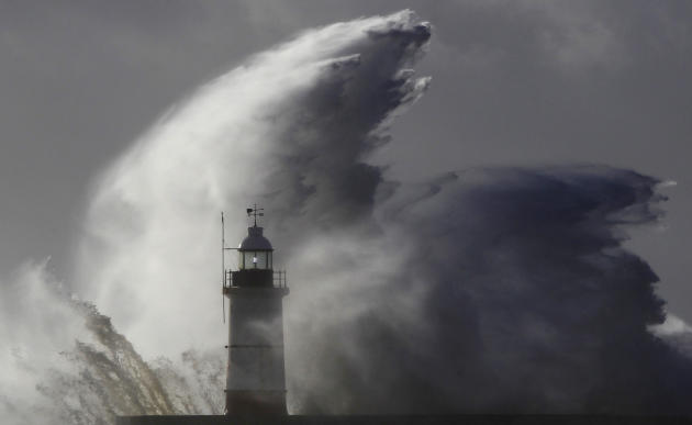 Major storms in Europe