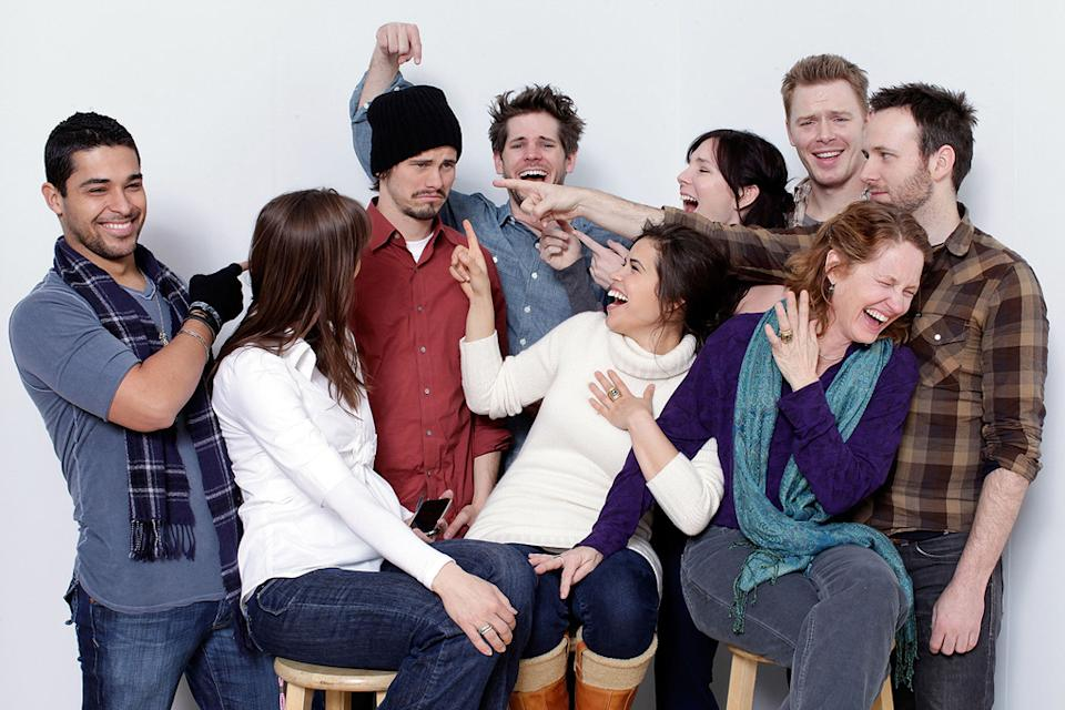 2010 Sundance Film Festival Portraits Wilmer Valderrama Heather Rae Jason Ritter America Ferrera Ryan Piers Williams Melissa Leo June Diane Raphael...