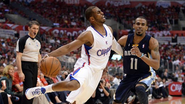 Basketball - Clippers get physical to maul Grizzlies