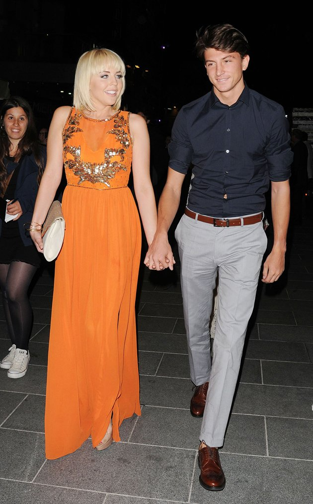 TOWIE's Lydia Bright and Tom Kilbey