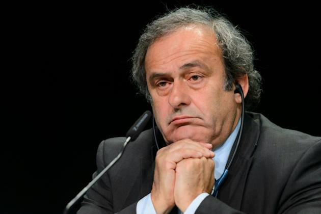 UEFA president Michel Platini has been suspended over a suspect $2 million payment