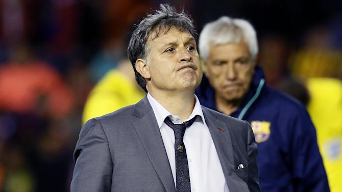 South American Football - Martino takes reins of World Cup runners-up Argentina