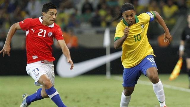 World Cup - Brazil booed by own fans in draw with Chile