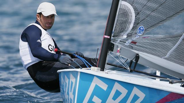 Ainslie begins hunt for fourth Olympic gold