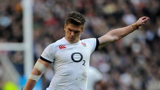 Rugby - Farrell not fazed by earlier errors