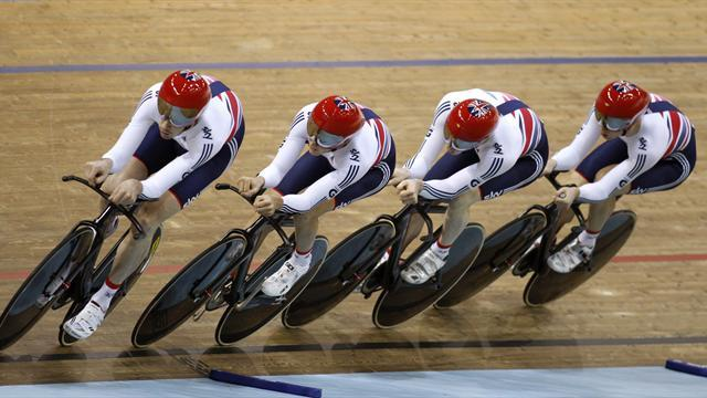 Cycling - GB pursuit quartet beaten into silver at Worlds