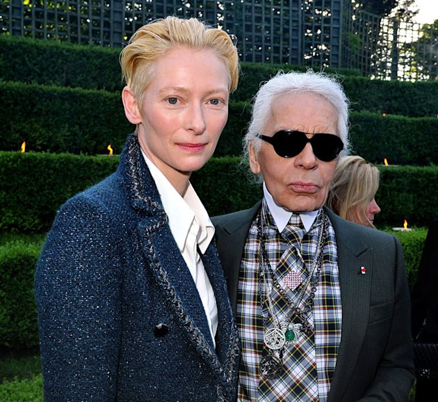 Tilda Swinton Stars In New Chanel Paris-Edinburgh Ad Campaign