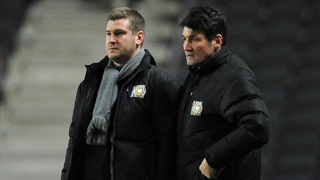 League One - Harford quits MK Dons role